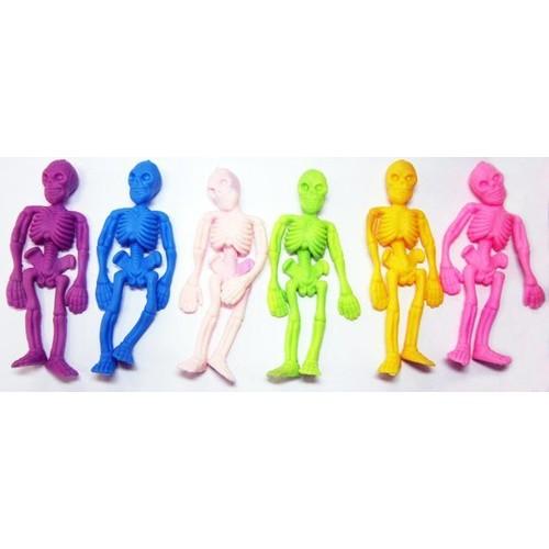 Скелетики цветные